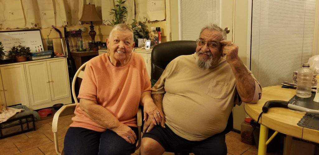 It is our honor to assist Frank and his wonderful wife Maxine that are just now celebrating being together for 50+ years!!!!