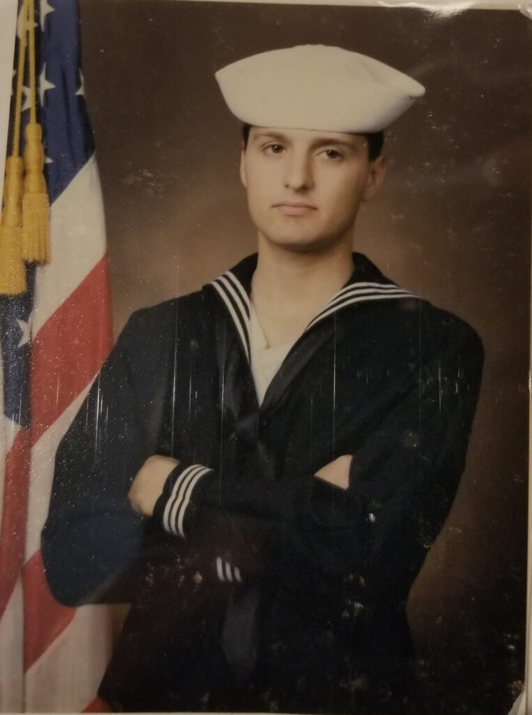 Stacy's brother served in the Navy